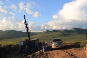 Rockhaven-Resources_Klaza_Property-Drill_with_Truck