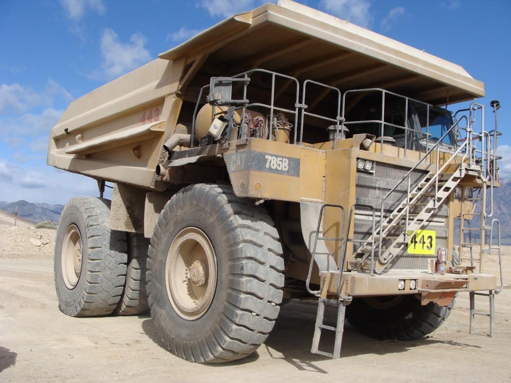 symbolbild us site visit Truck