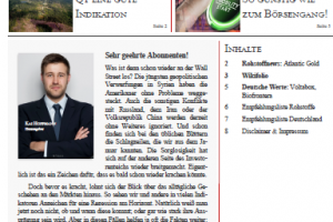 Investor Magazin 241 // Atlantic Gold, Voltabox, Biofrontera